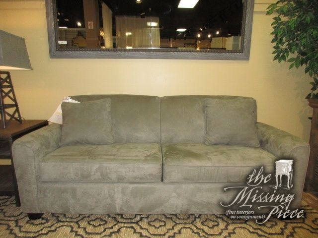 Charming The Dinah Queen Sleeper Sofa In Sage From Best Home Furnishings. This Sofa  Has An Air Dream Blow Up Mattress Inside; Top Of The Line Comfort At An ...