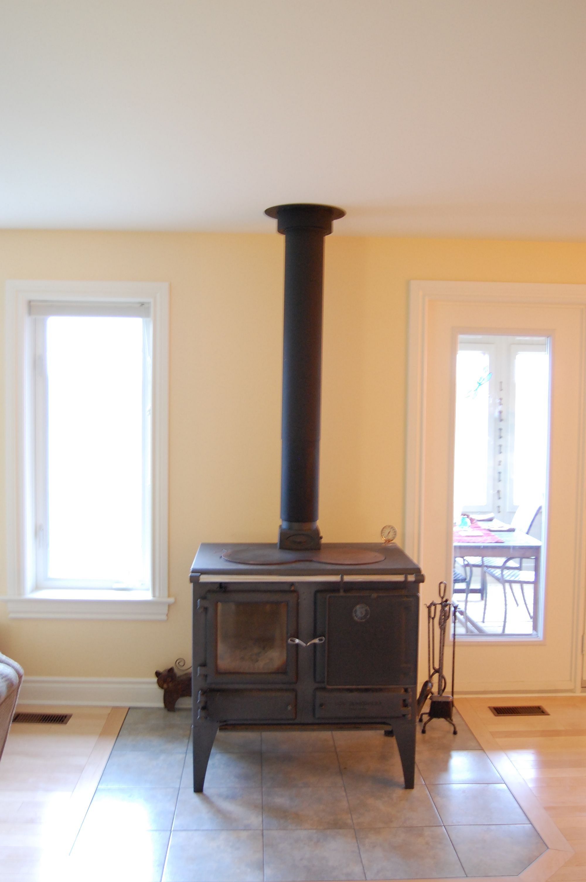 Nothing Wood Burning Stove Tile Surround Google Search No Back Protection