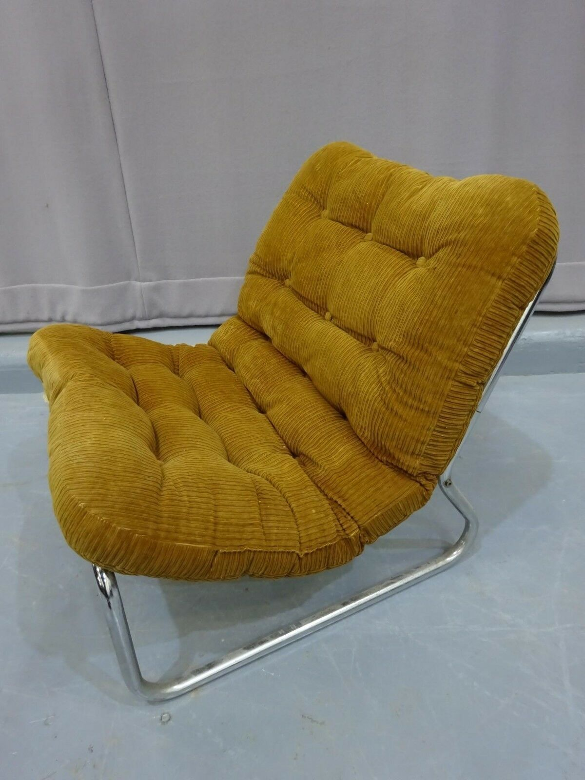 Fabulous 1970 S Peter Hoyte Style Sling Chair Retro Vintage Mid Evergreenethics Interior Chair Design Evergreenethicsorg