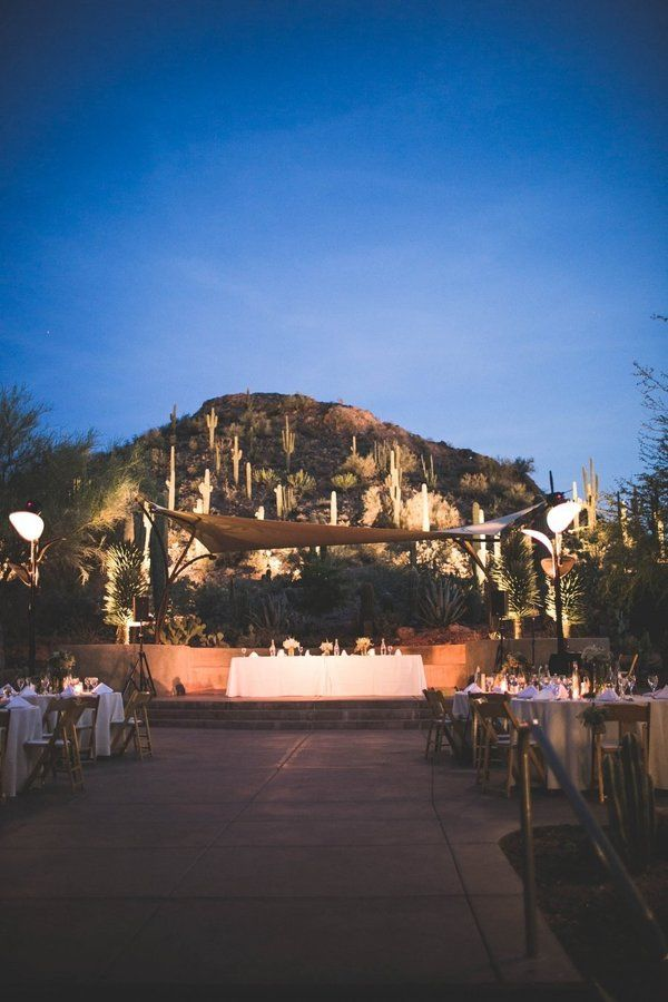 Desert wedding at night | Audre Rae Photography