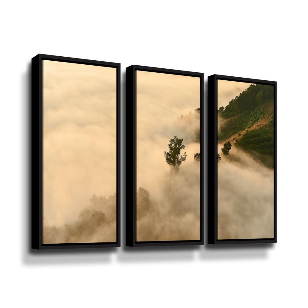 Artwall Clouds By Photoinc Studio Framed Wall Art Brown Wall Canvas Framed Wall Art Framed Canvas Wall Art
