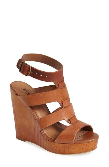0254fc1e9 Lucky Brand  Roselyn  Leather Caged Platform Sandal (Women) available at   Nordstrom