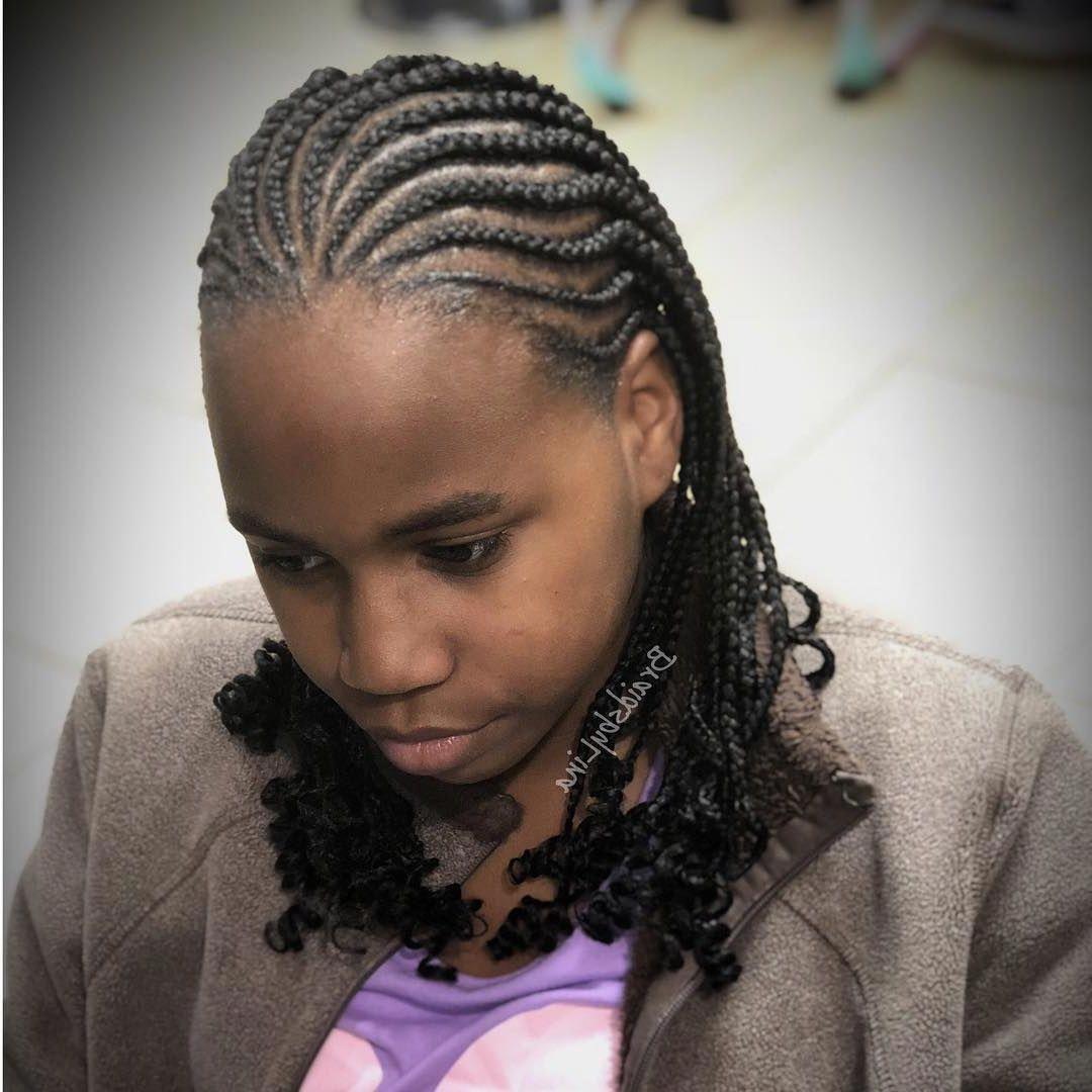 50 Classy Cornrows Braids for Black Women, Cornrows have