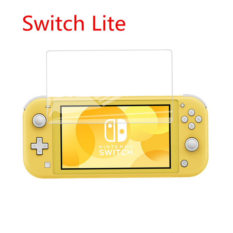 Nintendo Switch Lite Tempered Film Game Console Waterproof Protective Tempered Film Case Cover Nintendo Switch Film Games