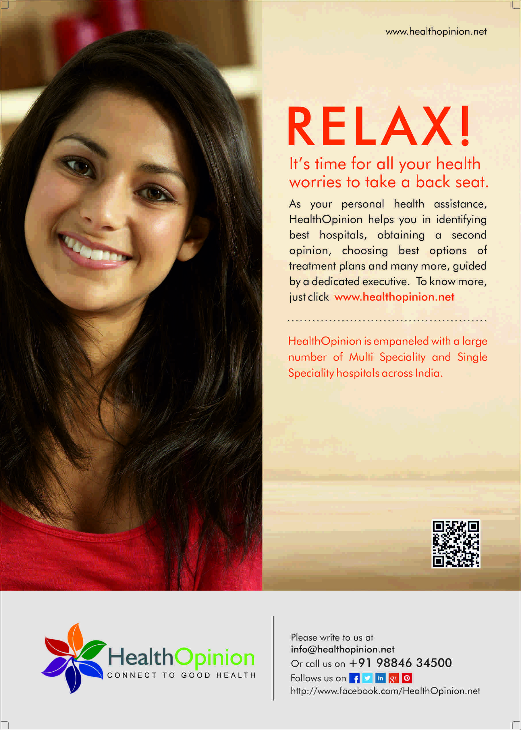 Relax! We are here to help you   #healthtips #hospitals #medical