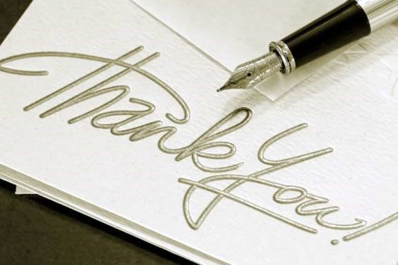 5 tips for writing a heartfelt thank you note Wedding Invitations