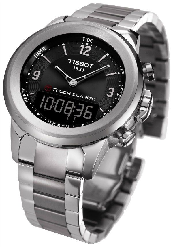 43db56e4413 The new Tissot T-Touch model for 2012 is the T-Touch Classic. Tissot takes  the high-tech appeal of the T-Touch and dresses it in a more... well