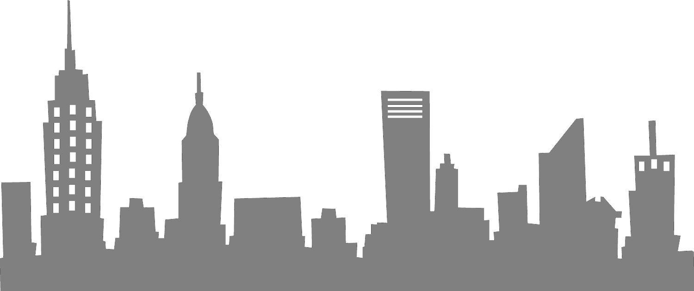 City Stencil Gotham City Skyline Skyline Silhouette City Skyline Silhouette