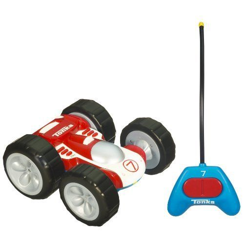 Tonka Bounceback RC Racer (Red/White One Side With Blue On