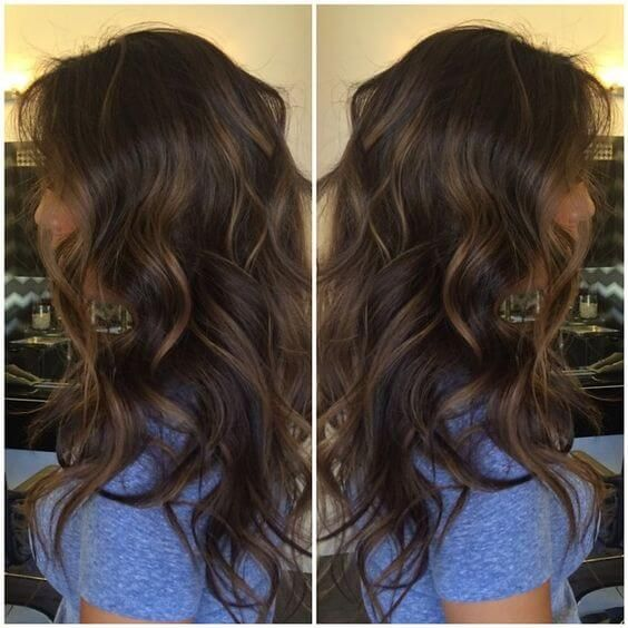How To Add Highlights To Dark Brown Hair At Home Fashion Hair