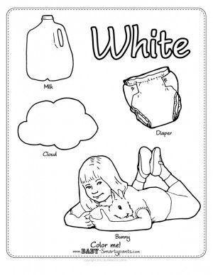 color white journal Colors Coloring pages, Color
