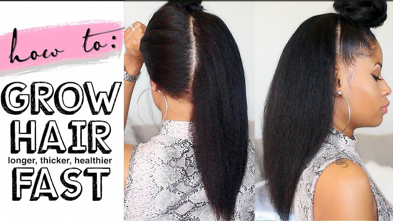 Too Often Black Hair Is Subjected To Chemicals And Extreme Heat In An Attempt To Make Grow Long Hair Grow Black Hair Thick Hair Styles