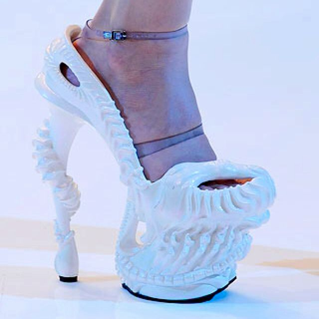 Alexander McQueen shoes for lady GaGa. They were used in her ...
