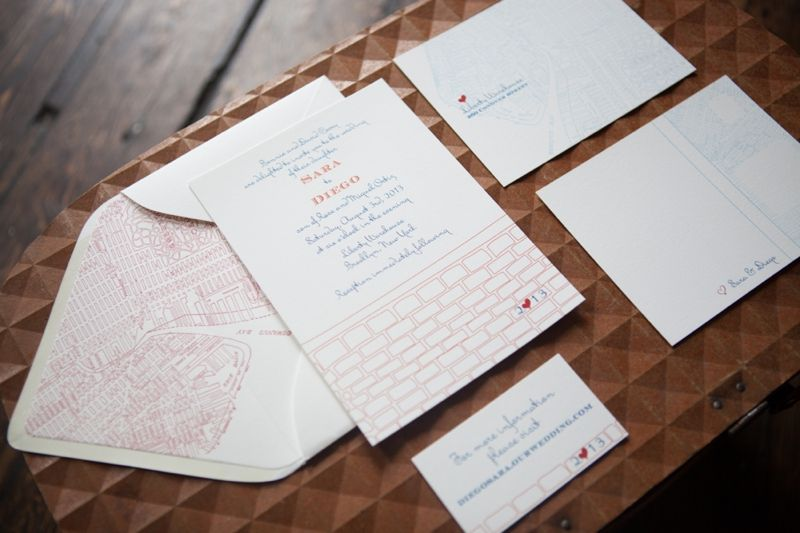 Red White And Blue Wedding Invitations: Red, White, And Blue Wedding Ideas {Rustic}