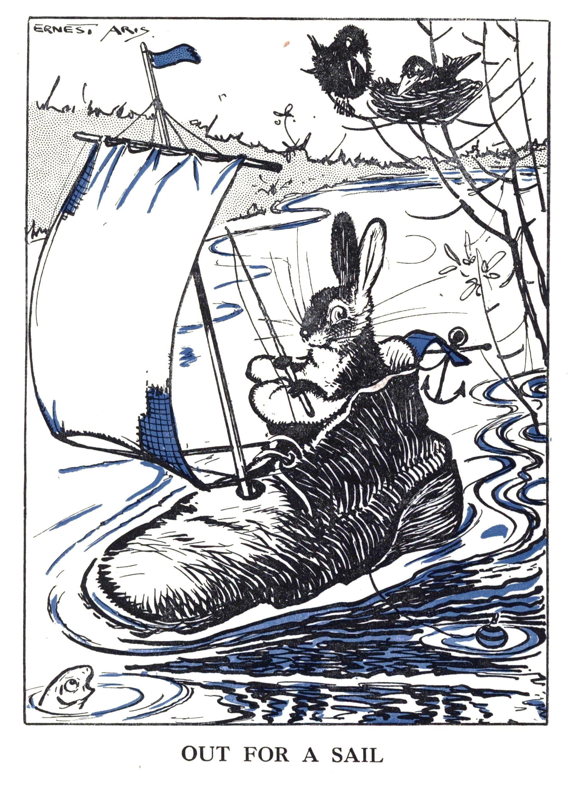 Ernest aris illustration childrens book illustration