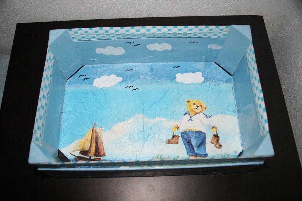 Manualidades con cajas de frutas diy y manualidades - Manualidades con cajas de frutas ...