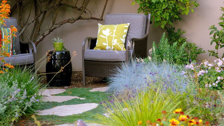 Idea To Steal Invite Meandering Everything You Need To Give The Hose A Rest From Unthirsty Plant Picks To I Waterwise Garden Planting Flowers Garden Design