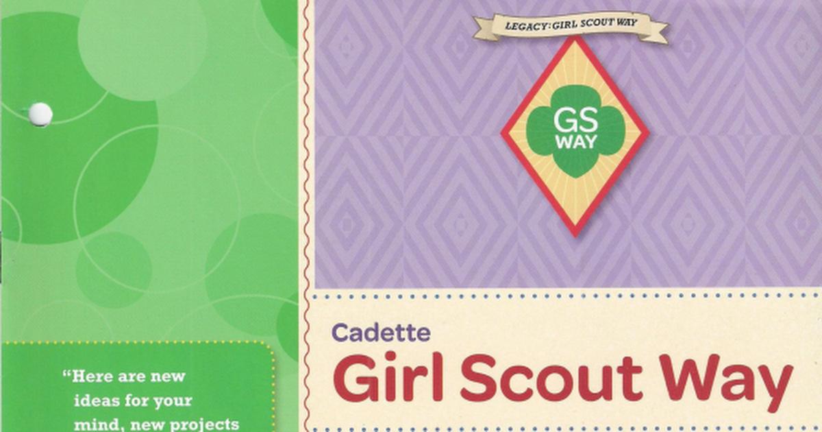 Girl Scout Way Pdf Google Drive Girl Scouts Girl Scouts