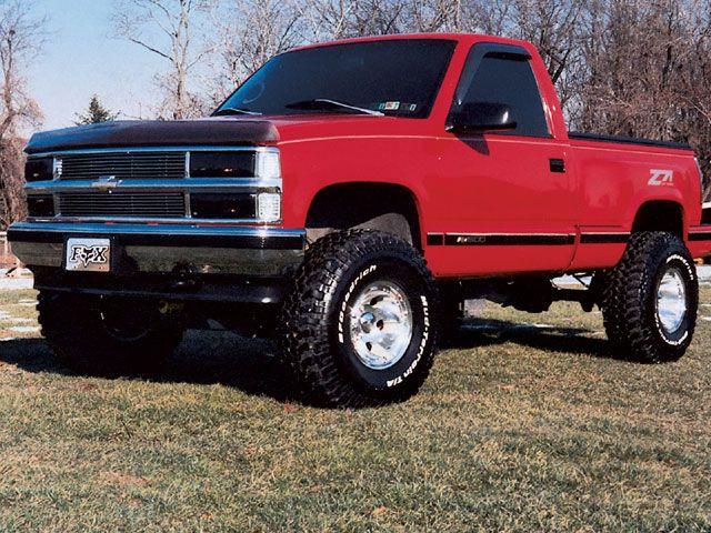 1995 Chevrolet 1500 Stepside Front Drivers Side View Photo 5 Single Cab Trucks Trucks Chevy Stepside