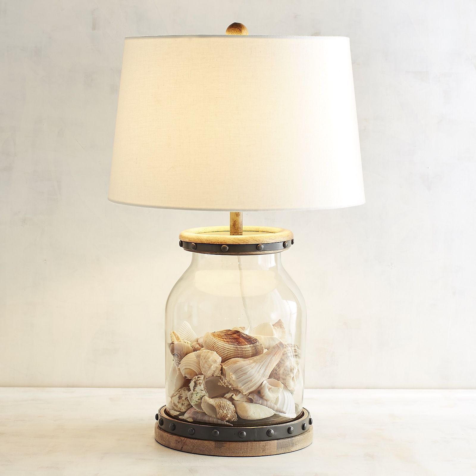 Its True You Can Fill Our Lamp Base With Anything