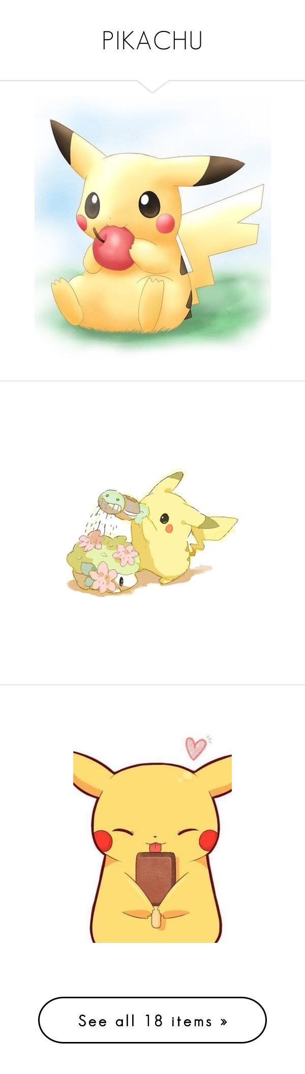 Uncategorized Pokémon Drawings pikachu by coolcat000 liked on polyvore featuring anime