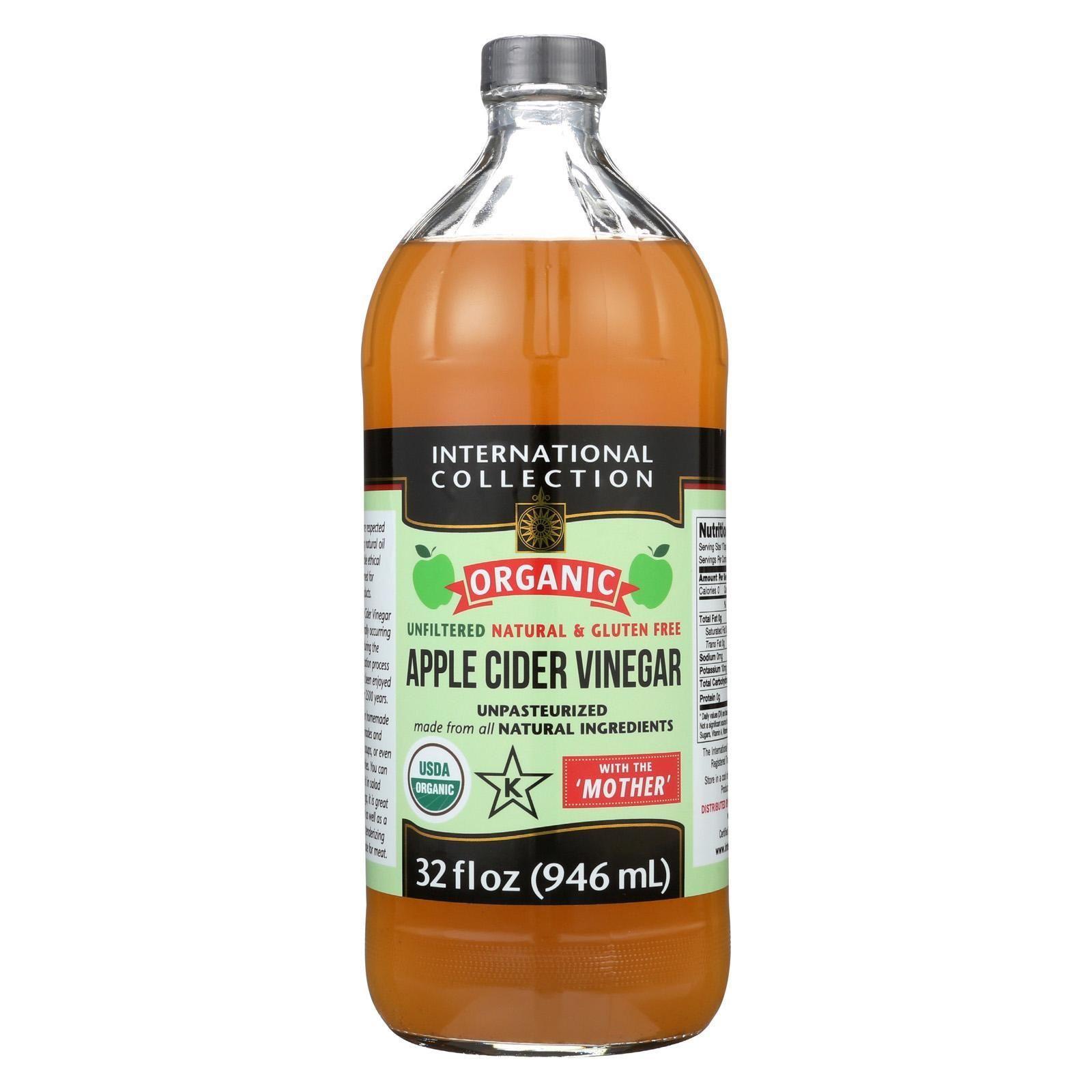 International Collection Vinegar Organic Apple Cider