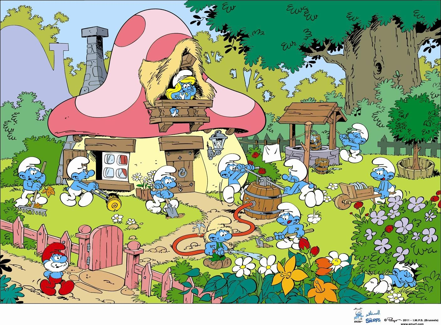 dd5d32ac03db6ea2c9aa0fc3cc725b39 - How To Get More Wood And Stone In Smurfs Village