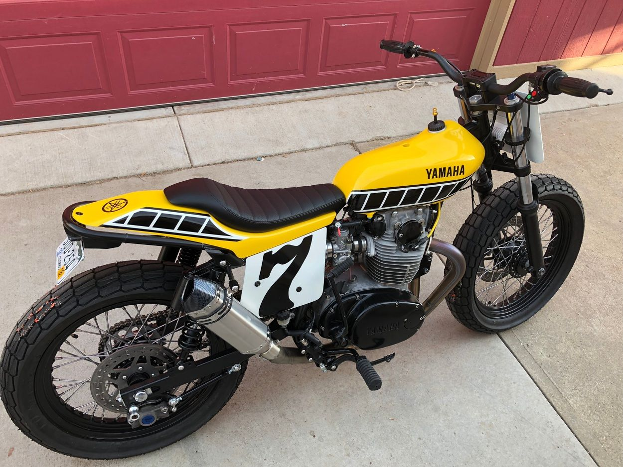 Yamaha XS650 Street Tracker by Joe Wagner | Motorcycles | Flat