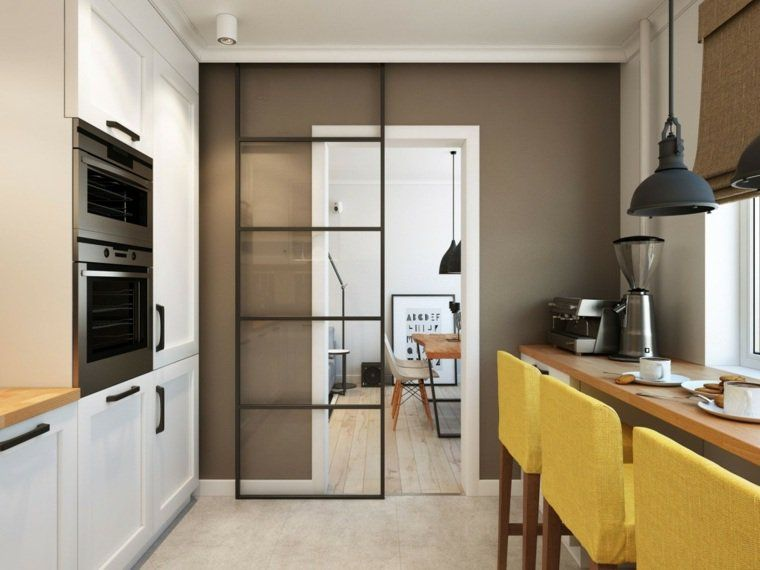 Intérieur appartement moderne du0027inspiration scandinave à Moscou