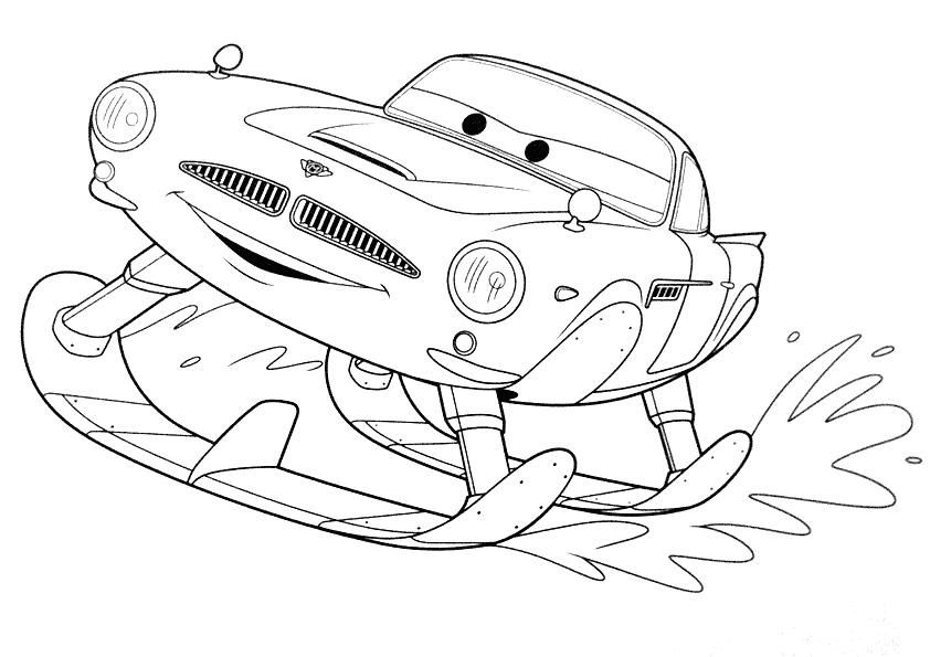 Disney Mater The Tow Truck Cars Coloring Pages   595x842