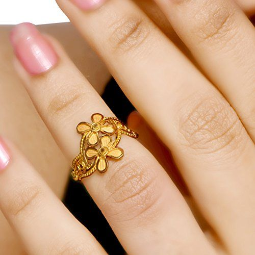 Buy Senco Gold 22k 916 Yellow Gold Ring Online At Low Prices In India Amazon Jewellery Store Gold Ring Designs Gold Earrings Designs Jewelry Bracelets Gold