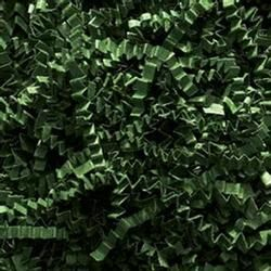Crimped Paper Shred - Forest Green (1 LB) - Discount Party Supplies