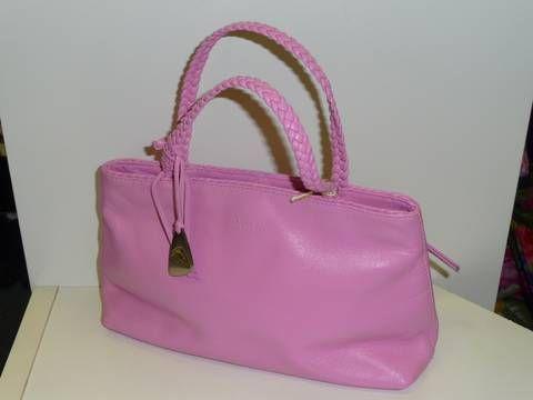 Little Tula leather bubblegum pink hand bag. So sweet! Twenty pounds @revelarefashion