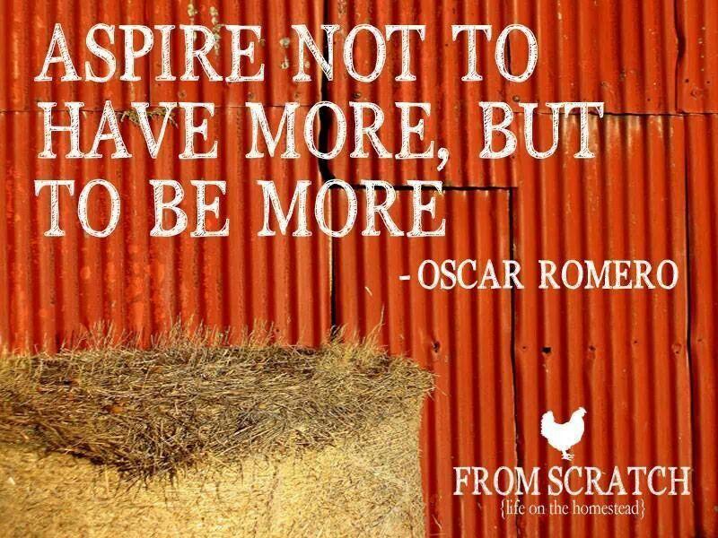 Be more life lessons life oscar romero