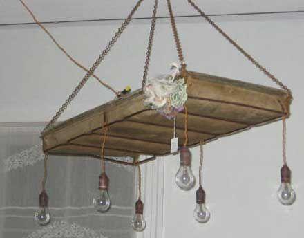 DIY Farmhouse Wood Beam Chandelier TwoFeetFirst