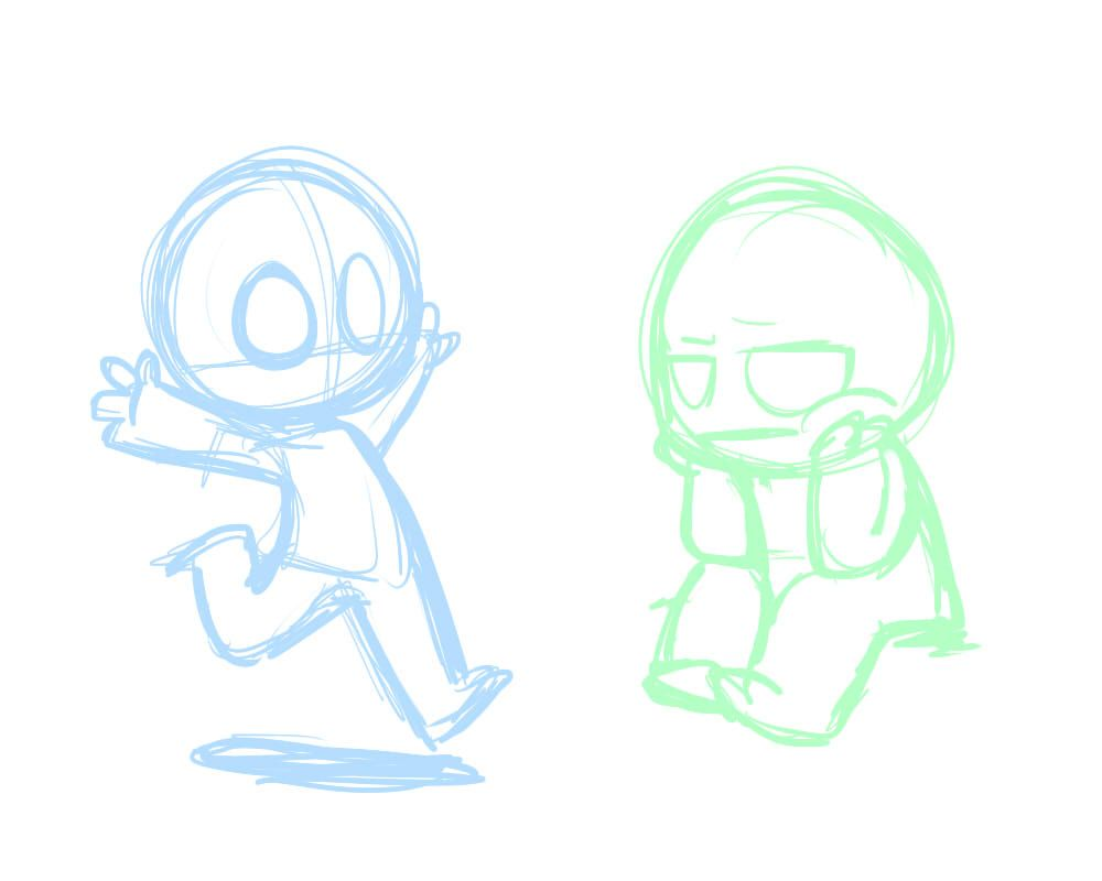 2 YCH Chibis *OPEN* by LeniProduction on DeviantArt | Drawing ...