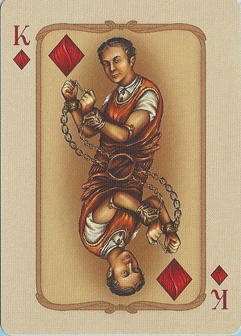 Houdini ~ King of Diamonds