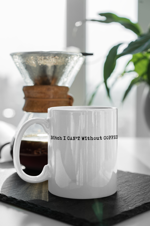 I Can T Without Coffee Pg 13 Logo Mug Mugs Funny Coffee Mugs Funny Mugs