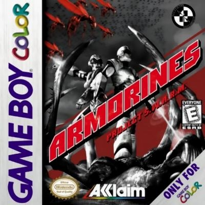 Armorines: Project S W A R M  [USA] - Nintendo Gameboy Color