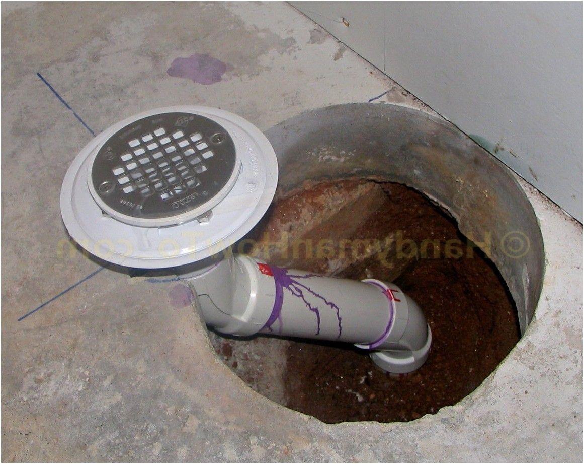 Lovely Installing Basement Shower Drain