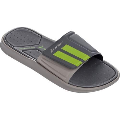 159328050032 Men s Rider Rail II Slide Grey Dark Grey