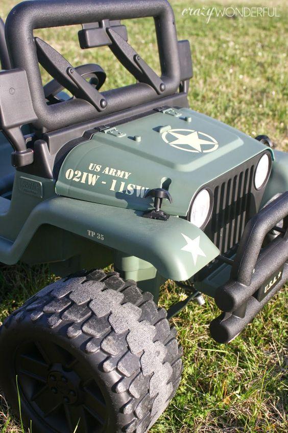 Barbie Jeep Makeover Kids Jeep Power Wheels Jeep Jeep Baby