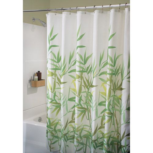 Home Fabric Shower Curtains Pretty Shower Curtains Green