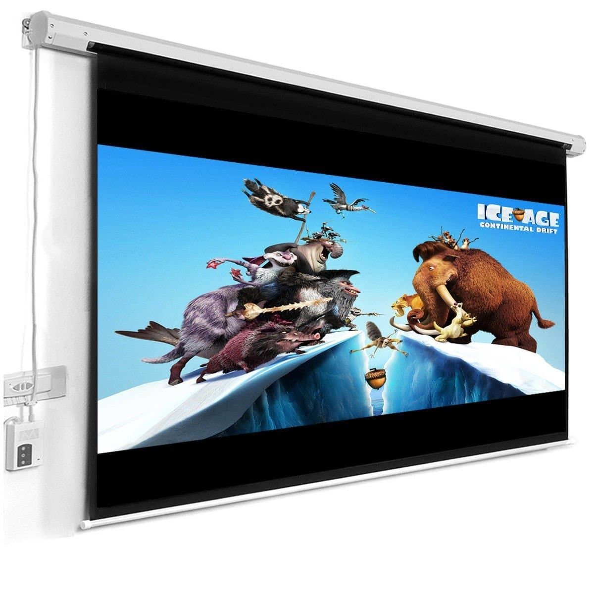 Top 10 Best Motorized Projector Screens In 2020 Complete Review With Images Projection Screen Projector Best Home Theater System