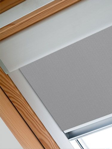 Expressions Dark Grey Blackout Blind For Velux 174 Windows
