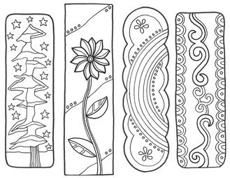 Make reading time even more fun with bookmarks for the