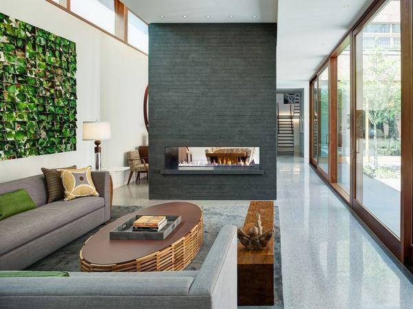 Ideas de separadores de ambientes para la sala de estar divisiones de madera - Separadores de ambientes originales ...