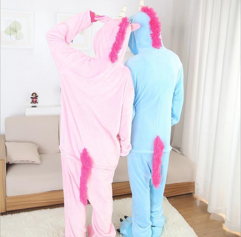 fc5416b4a3 Unicornio Kigurumi Pijamas Kawaii Moda Japonesa Anime Cospla -   770.00
