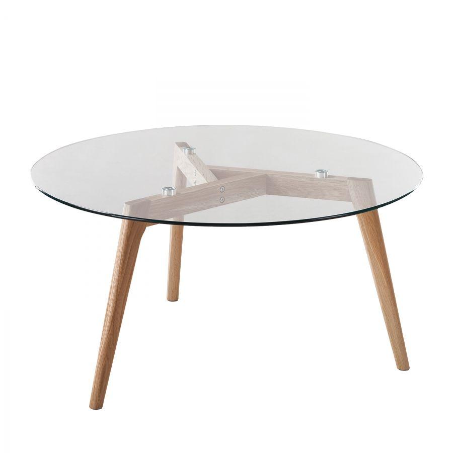 Table Basse En Verre Design Italien Tunkie