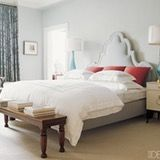 Blue is a classic, sure-to-please color choice for bedrooms